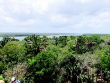 The View of the Lagoon from the Top of the Main Temple.
