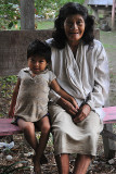 Yuqui woman and child - Bia Recuate, a Yuqui village on the Rio Chimore