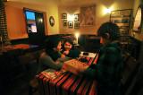 Games and Supper at La Oveja Negra