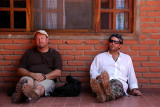 Dale and Chris during siesta time