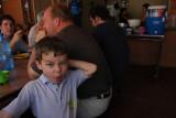 Isaiah's Karate Chop