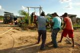 Drilling a Water Well in Hardeman, Santa Cruz, Bolivia, March 2008