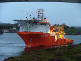 Normand Mermaid P 103 on search in Rongesund with submarine after Dung Tran Larsen
