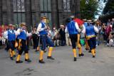 Morris Dancers in Uppermill, The Church Inn