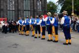 Morris Dancers at The Church Inn, Uppermill