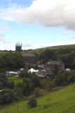 The Church in Uppermill, Venue for The Rush Cart Festival