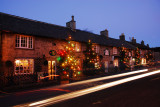 Castleton's Christmas Lights in The Peak District