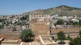 View from The Alhambra Palace