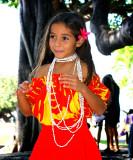 pretty little Hawaiian dancer