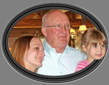 Grandpa Dave and 2/3 of his Granddaughters