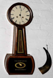 Lighthouse Keeper's Clock...and Powder Horn