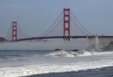 Baker Beach and the Golden Gate Bridge, San Francisco
