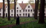 Nun at Convent - Belgium