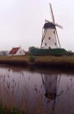 Windmill - Belgium Canal