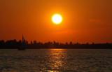 Sunset Over Higgins Lake