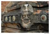 Fresque Temple Bagan.