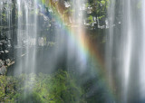 Waterfall Rainbow at the Mountain Cave