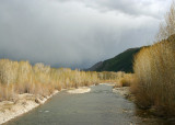Spring Storm on the Big Wood River
