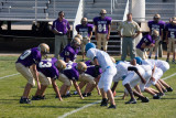 D-line in action