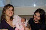 Denise, Isabela e Laura