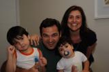 Pedro, Julio, Evandra e Rafa
