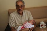 Vovô Jorge e Isabela