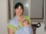 Mamãe Helo e seu sling
