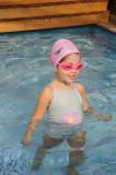 Pronta para a natação!