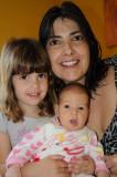 Helo, Mari e Isabela