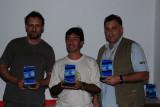 Premiação do GP - Mauricio, Cassino e JP