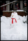 0013.The snowman our neighbors made the night before!