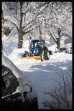 0086.Hey, a snowplow, finally, at 4pm!!!