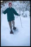 0142.Jean snowshoeing.