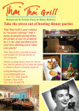 Food and interior photography for Thai Thai Grill
