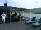BBQ on the Wind Dancer deck at Bequia