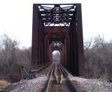 Through the Richmond Railroad Bridge