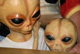 A Zeta Reticuli mother and her son