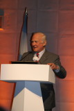 Buss Aldrin Motivational Speaker at YPO - Emilio Scotto