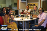 Radio Caracol - Miami, Juan Carlos Maimone & Emilio Scotto