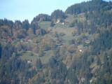 Looking up from Lauterbrunnen