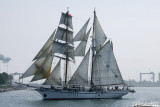 Tall Ships off California's Coast