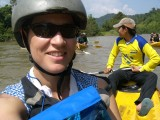 On the Song river, Vang Vieng
