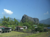 On the way to Ban Kong Lo, central Laos