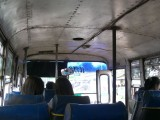 Old rickety bus