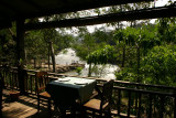 View from Tadlo Lodge's restaurant