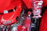Car inside an engine, Car Show, Long Grove