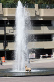 Summer fun at the fountain, Milwaukee