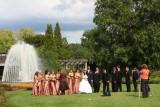 A perfect setting for a wedding, Rose Garden, Chicago Botanical Garden