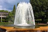 Fountain in the Rose Garden, Chicago Botanical Garden