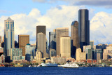 Seattle and its tallest buildings